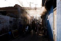Liangmachang är en by i staden av Peking Royaltyfria Bilder