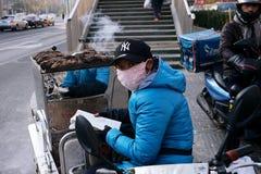 Liangmachang är en by i staden av Peking Arkivfoto