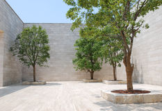 liangzhu博物馆正方形 免版税库存图片