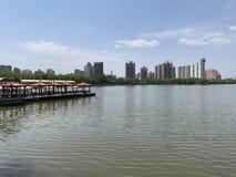Lianhuachi-Park stockbilder