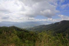lianhuashan山谷  库存照片