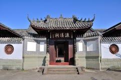 Lianxi-Tempel in der alten Stadt von Zhouzi Lizenzfreies Stockbild