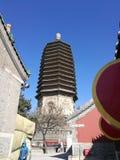 Liao Dynasty Building Tianning Ancient-Turm lizenzfreie stockbilder