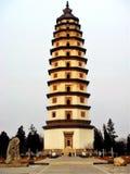 Liaodi塔@定州,中国 免版税库存图片