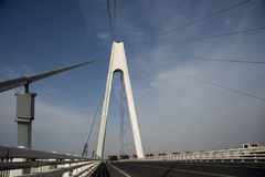 Liaohe-Brücke Lizenzfreies Stockfoto
