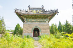 LIAONING, CHINA - Aug 03 2015: Dongjing Mausoleum. a famous hist Stock Image