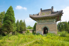 LIAONING, CHINA - 3 de agosto de 2015: Mausoleo de Dongjing un hist famoso Imagen de archivo