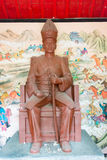 LIAONING, CHINA - 1º de agosto de 2015: Zhang Zuolin Statue no marechal Zh Imagem de Stock