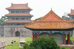 LIAONING, CHINA - Jul 31 2015: Fuling Tomb of the Qing Dynasty(UNESCO World Heritage site). a famous historic site in Shenyang, L. Iaoning, China stock images