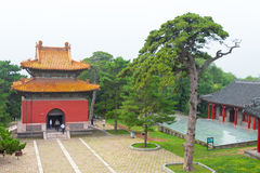 LIAONING, CHINA - Jul 31 2015: Fuling Tomb of the Qing Dynasty(U Royalty Free Stock Images