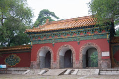 LIAONING, CHINA - Jul 31 2015: Fuling Tomb of the Qing Dynasty(U Royalty Free Stock Photography