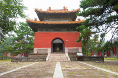 LIAONING, CHINA - Jul 31 2015: Fuling Tomb of the Qing Dynasty(UNESCO World Heritage site). a famous historic site in Shenyang, L. Iaoning, China royalty free stock image