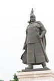 LIAONING, CHINA - Jul 31 2015: Hong Taiji Statue at Zhaoling Tom Stock Images