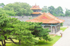 LIAONING, CHINA - Jul 31 2015: Zhaoling Tomb of the Qing Dynasty Stock Image
