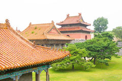 LIAONING, CHINA - 31. Juli 2015: Zhaolings-Grab Qing Dynastys stockbilder