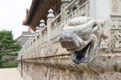 LIAONING, CHINA - 31. Juli 2015: Zhaolings-Grab Qing Dynastys stockfoto