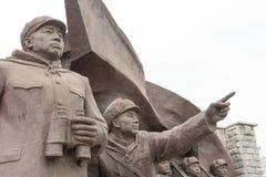 LIAONING CHINY, Jul, - 28 2015: Chińskich osob Ochotniczy wojsko S obrazy royalty free