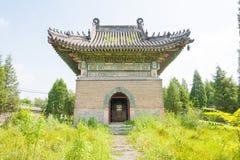 LIAONING, CINA - 3 agosto 2015: Mausoleo di Dongjing un hist famoso Immagine Stock