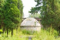 LIAONING KINA - Augusti 03 2015: Dongjing mausoleum en berömd hist Arkivfoton