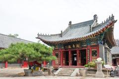 LIAONING KINA - Augusti 05 2015: Taiqing slott ett berömt historiskt Arkivfoton