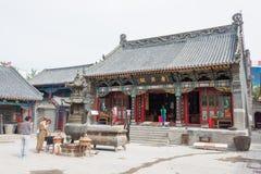 LIAONING KINA - Augusti 05 2015: Taiqing slott ett berömt historiskt Royaltyfri Bild