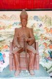 LIAONING KINA - Augusti 01 2015: Zhang Zuolin Statue på marskalken Zh Fotografering för Bildbyråer
