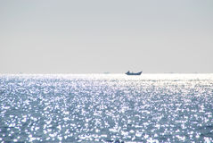 Liaoning Province ocean scenery Stock Image