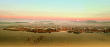 Liaoning Province village Royalty Free Stock Photography