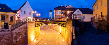 Liars bridge sibiu, romania Stock Image