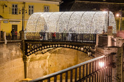 Liars bridge, Sibiu, Romania Stock Photography