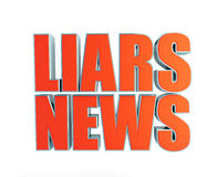 Liars news, fake news Stock Image