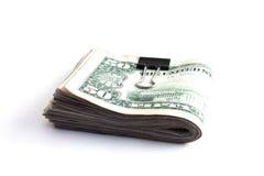 Liasse d'argent comptant Photos libres de droits
