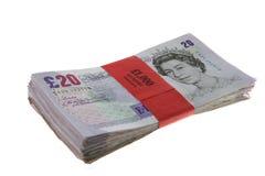 Liasse d'argent comptant Image libre de droits