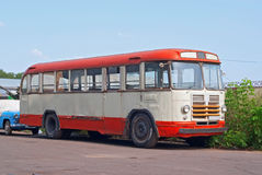 LiAZ-158 bus Stock Photo