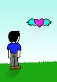 Libérez le coeur Images libres de droits
