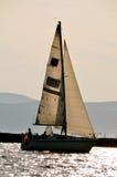 Libérez sur le lac au Vermont Image stock