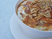 Libańczyk Fatteh Wyśmienicie Tradycyjny Arabski jedzenie obraz stock