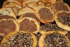 Libańczyk Piec jedzenie obraz royalty free