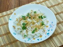 Libańczyk Rice z wermiszel obraz stock