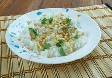 Libańczyk Rice z wermiszel zdjęcia stock