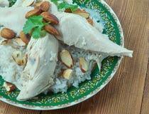 Libański kurczak Zdjęcia Royalty Free