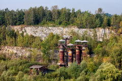 Liban Quarry in Krakow Royalty Free Stock Images
