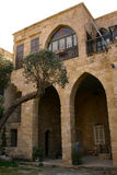 Libanees traditioneel huis in Batroun, Libanon Stock Fotografie