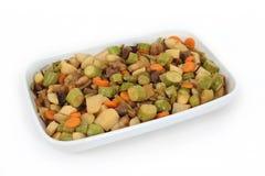 Libanesische Nahrung des gebackenen Gemüses und des Fleisches Lizenzfreies Stockbild