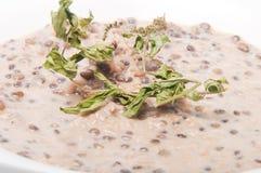 Libanesische und nahöstliche Nahrung Stockfoto