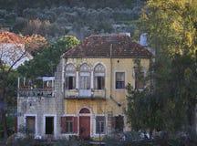 Libanesisches Haus stockfoto
