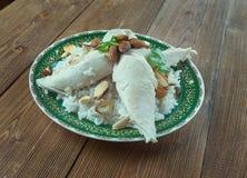Libanesisches Huhn Stockbilder