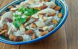 Libanesisches Huhn Stockbild