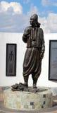Libanesisk invandrande skulptur Arkivbilder