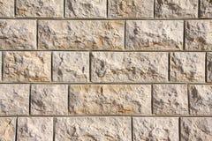 libanesisk limestoneinfödingvägg royaltyfria bilder